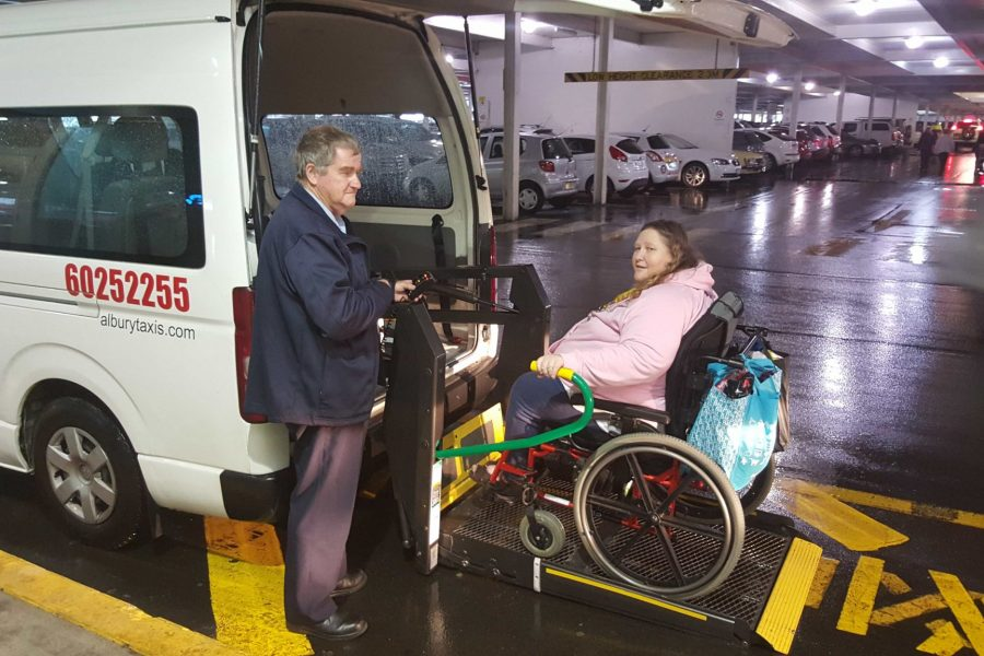 Wheelchair Access Taxi Assistance